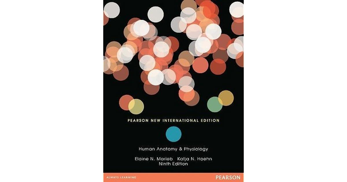 Human Anatomy Physiology By Elaine N Marieb