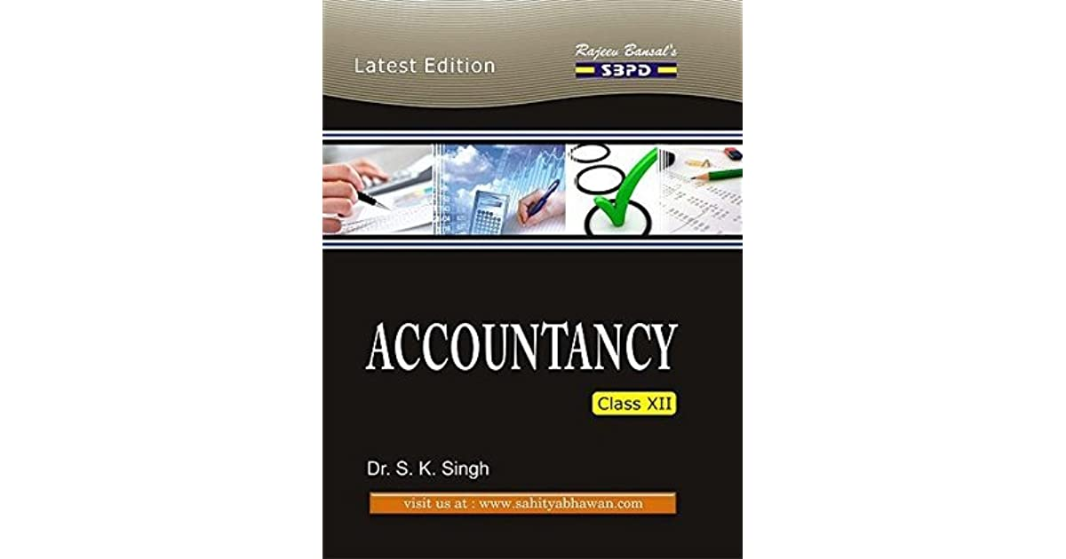 SBPD Publications : Accountancy For Class 12th: Accountancy