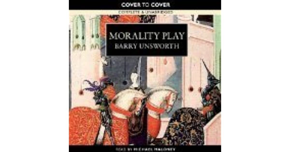 the role and character of nicholas barber in the novel morality play by barry unsworth