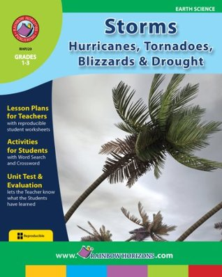 Storms: Hurricanes, Tornadoes, Blizzards and Drought Gr. 1-3