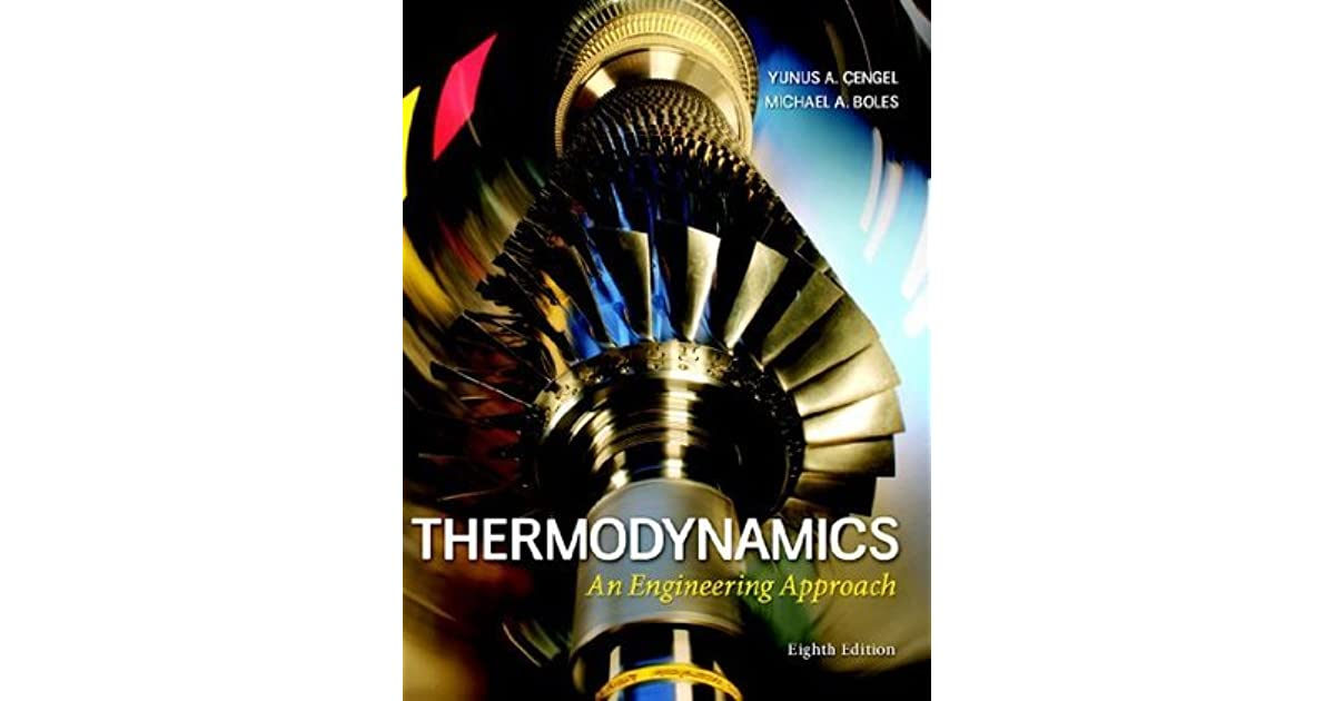 Thermodynamics an engineering approach by cengel fandeluxe Images