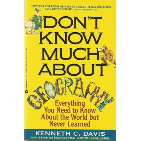 He Dont Know Much About Geography Or >> Nostalgia Reader S Review Of Don T Know Much About Geography