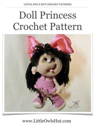 Princess Silver-shoe | amigurumi crochet doll pattern | lilleliis | 416x318