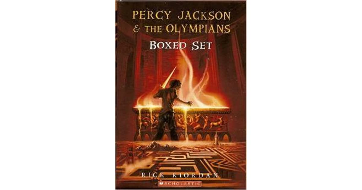 Percy Jackson & The Olympians The Lightning Thief Book