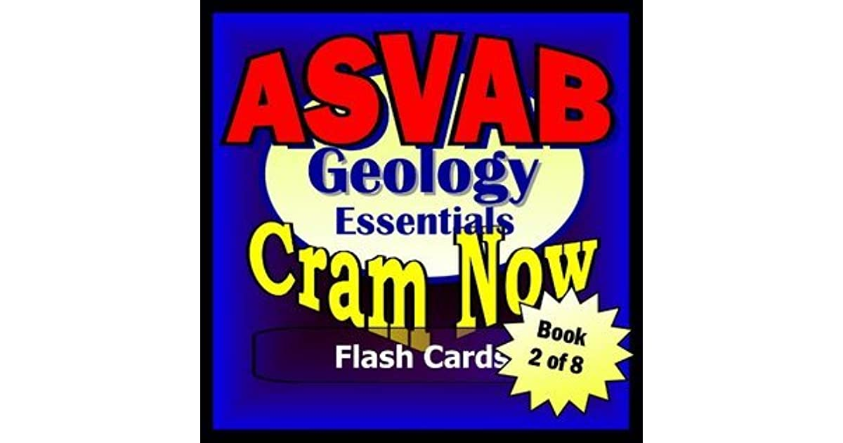 ASVAB Prep Test GEOLOGY REVIEW Flash Cards--CRAM NOW!--ASVAB