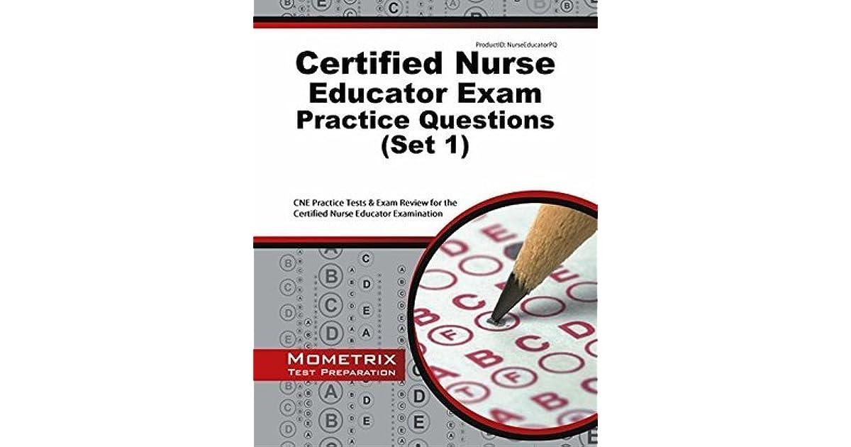 Certified Nurse Educator Exam Practice Questions Cne Practice Tests