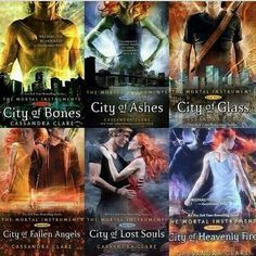 Cassandra Clare - 1-6 - The Mortal Instruments Box Set