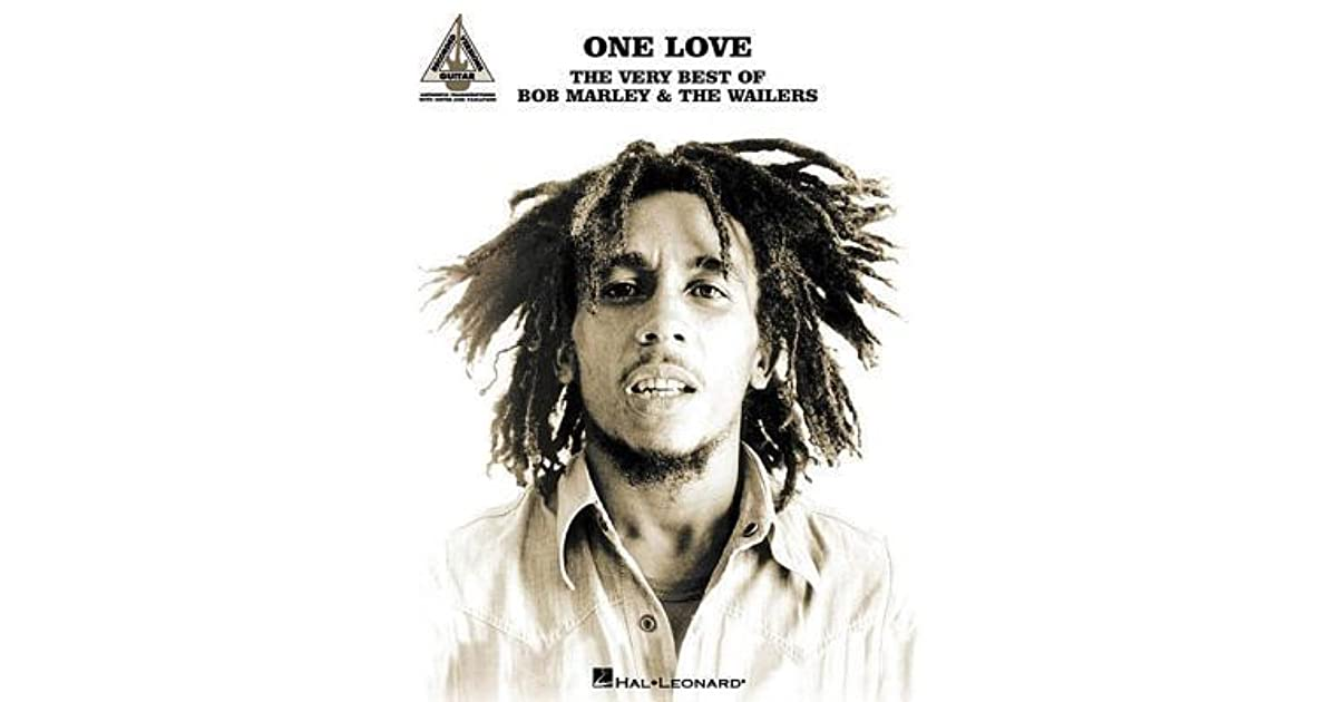 One Love The Very Best Of Bob Marley Wailers Guitar Recorded Versions By
