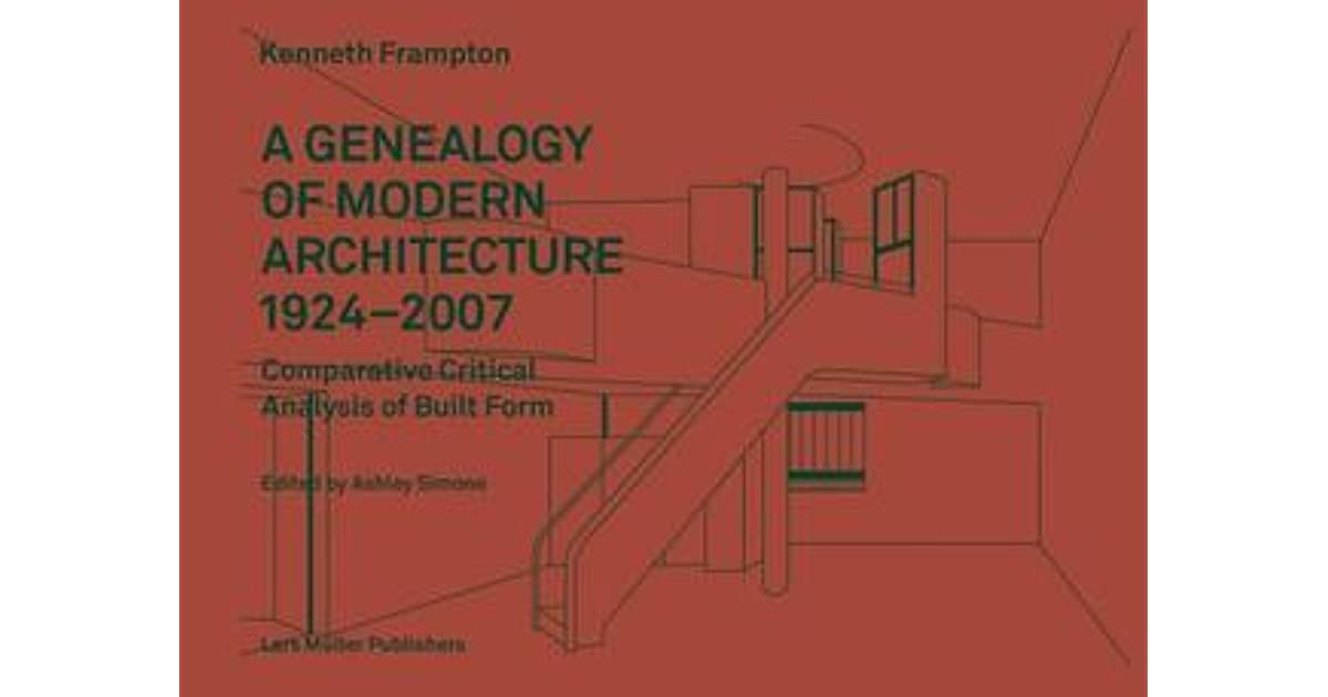 Kenneth Frampton Modern Architecture A Critical History Pdf