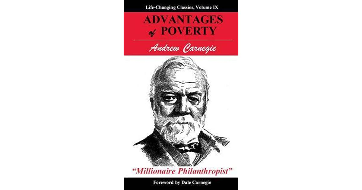 a perspective on charity in the gospel of wealth a book by andrew carnegie Start studying ap us history unit 6 (1865-1898 an essay written by andrew carnegie this was an economic philosophy begun by adam smith in his book, wealth.