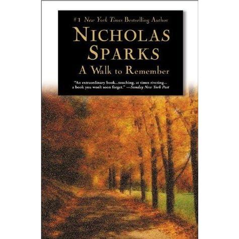 nicholas sparks a walk to remember essay
