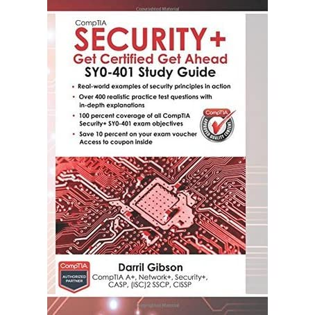 comptia security+ sy0 401 book pdf