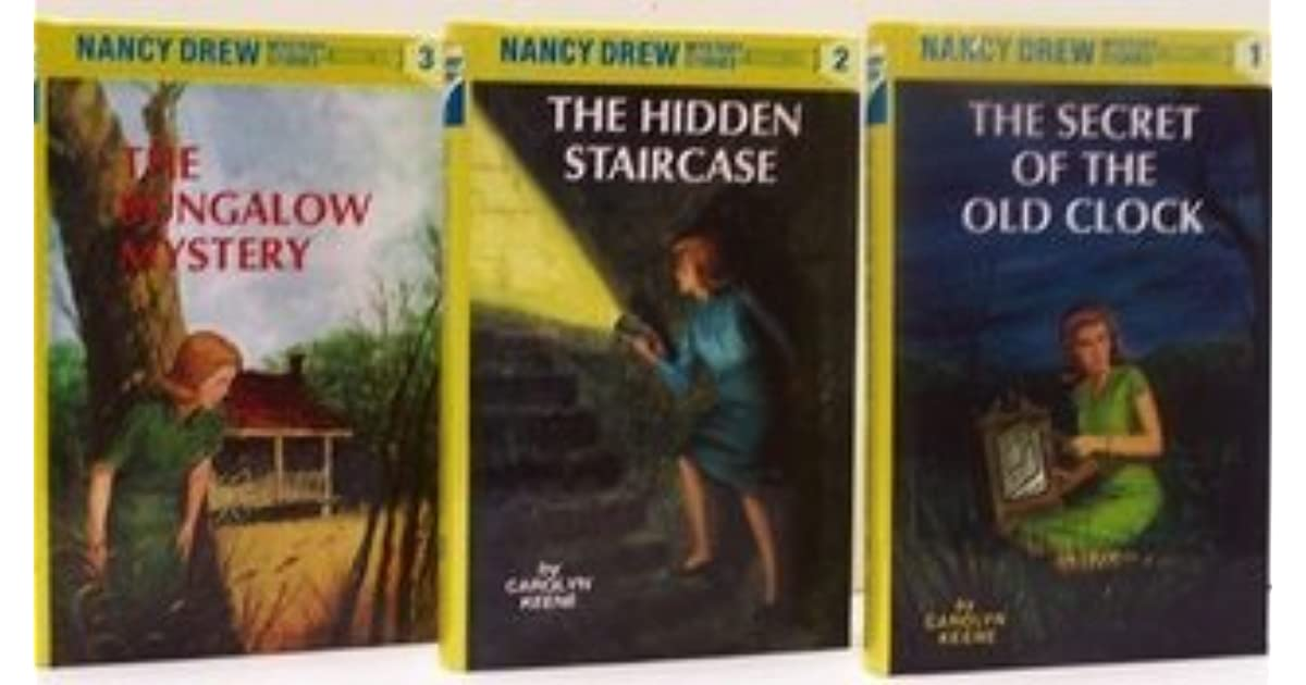 The Secret Of The Old Clock / The Hidden Staircase / The Bungalow Mystery  By Carolyn Keene