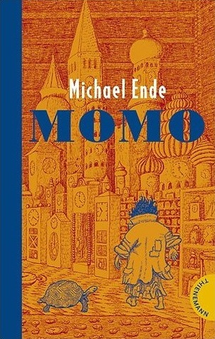 Image: the book cover of Momo