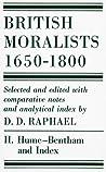 British Moralists: 1650-1800 Volume II: Hume - Bentham, and Index