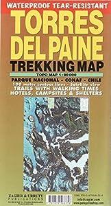 Torres del Paine Waterproof Trekking Map