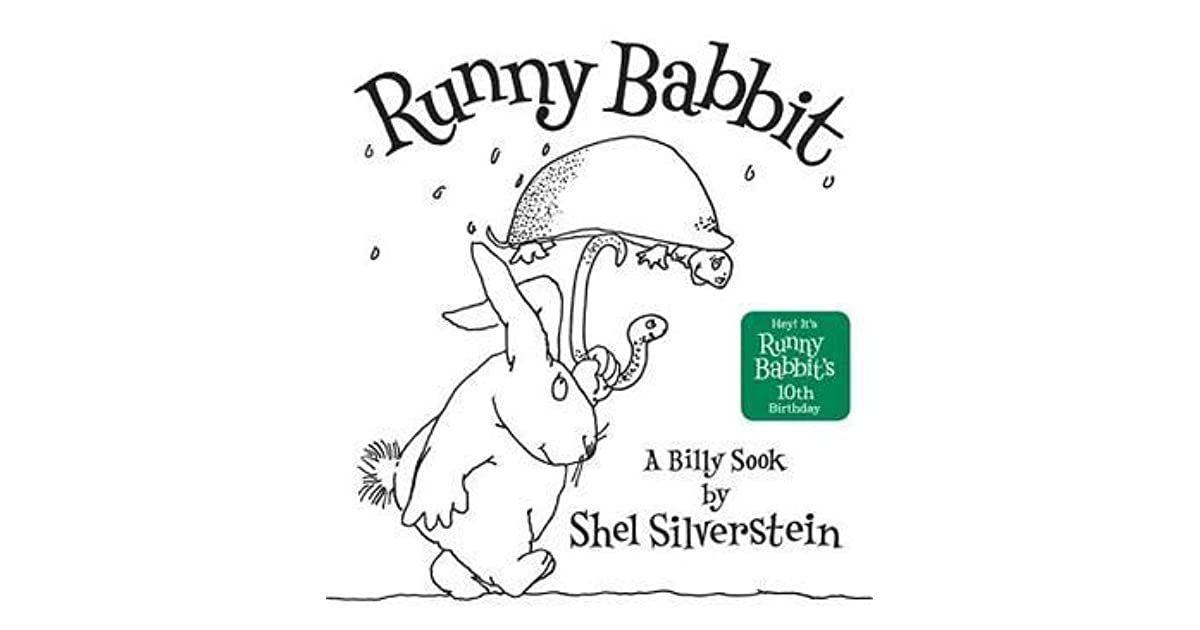 Shel Silverstein Biography: Runny Babbit: A Billy Sook By Shel Silverstein