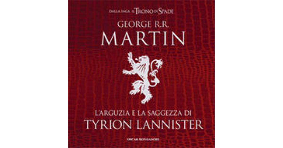 Ebook Wit And Wisdom Of Tyrion Lannister