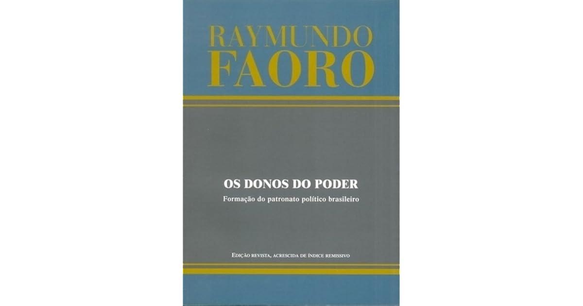 RAYMUNDO FAORO OS DONOS DO PODER DOWNLOAD