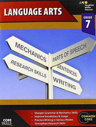Steck-Vaughn Core Skills Test Preparation Workbook Grade 7