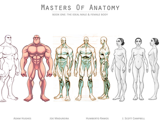 Masters of Anatomy (Masters of Anatomy #1) by Adam Hughes