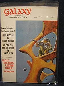 Galaxy Science Fiction Magazine, July 1969; Part 1 of *Dune Messiah* (Volume 28, No. 5)