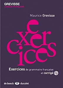 Exercices grammaires française + CD