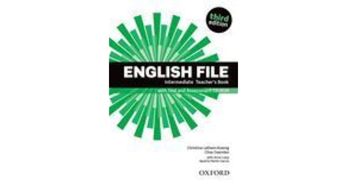 English file intermediate third edition pdf ответы