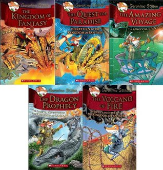 Geronimo Stilton: The Kingdom of Fantasy #1-#5 Pack: Geronimo Stilton: The Kingdom of Fantasy / The Quest for Paradise/ The Amazing Voyage / The Dragon Prophecy / The Volcano of Fire