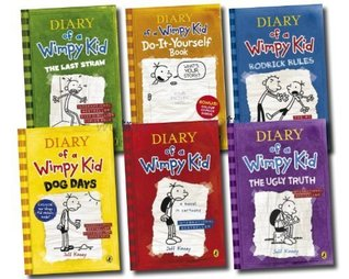 Diary Of A Wimpy Kid Collection 6 Books Set Rrp 45 94 The Ugly Truth Dog Days Do It Yourself Book Diary Of A Wimpy Kid Rodrick Rules The Last Straw By Jeff Kinney