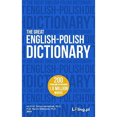 The Great English-Polish Dictionary (2 million words): interactive - replaces the standard Kindle e-