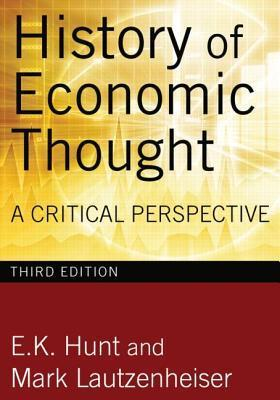 History of Economic Thought- A Critical Perspective (3rd edition)