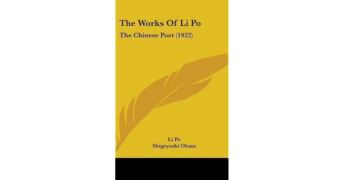 the works of li po po li