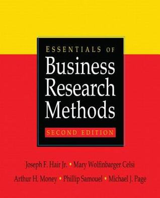 Essentials Of Business Research Methods by Joseph F  Hair Jr