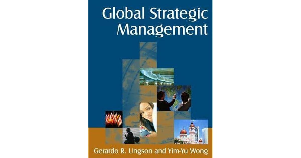 Global Strategic Management Book