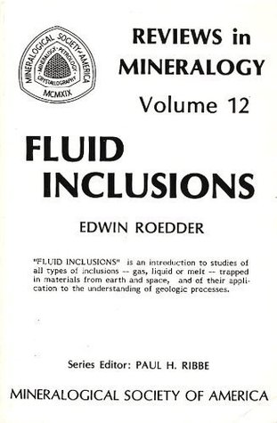 """Fluid Inclusions - """"FLUID INCLUSIONS"""" is an introduction to studies of all types of fluid inclusions -- gas, liquid or melt -- trapped in materials from earth and space, and of their application to the understanding of geologic processes."""