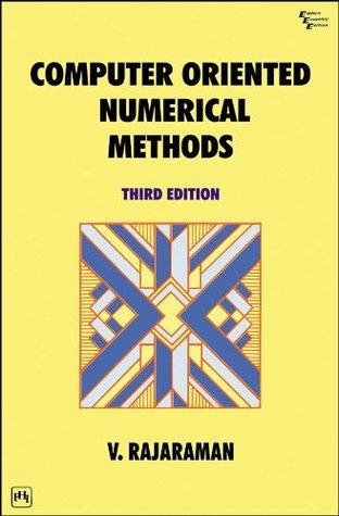 Computer-Oriented Numerical Methods