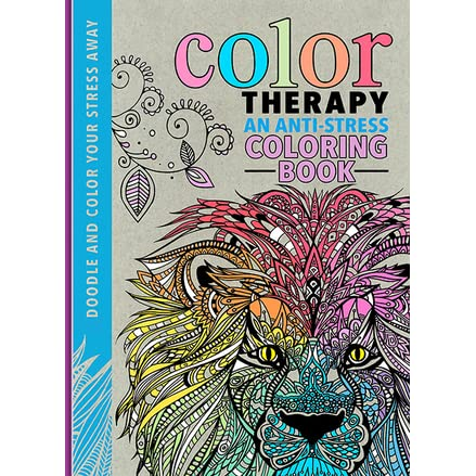 Color Therapy An Anti Stress Coloring Book By Richard