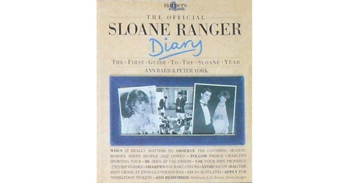 The sloane ranger handbook
