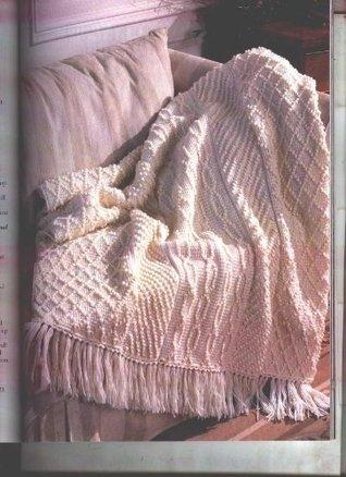 Herrschner's Blue-Ribbon Knit and Crochet Afghans