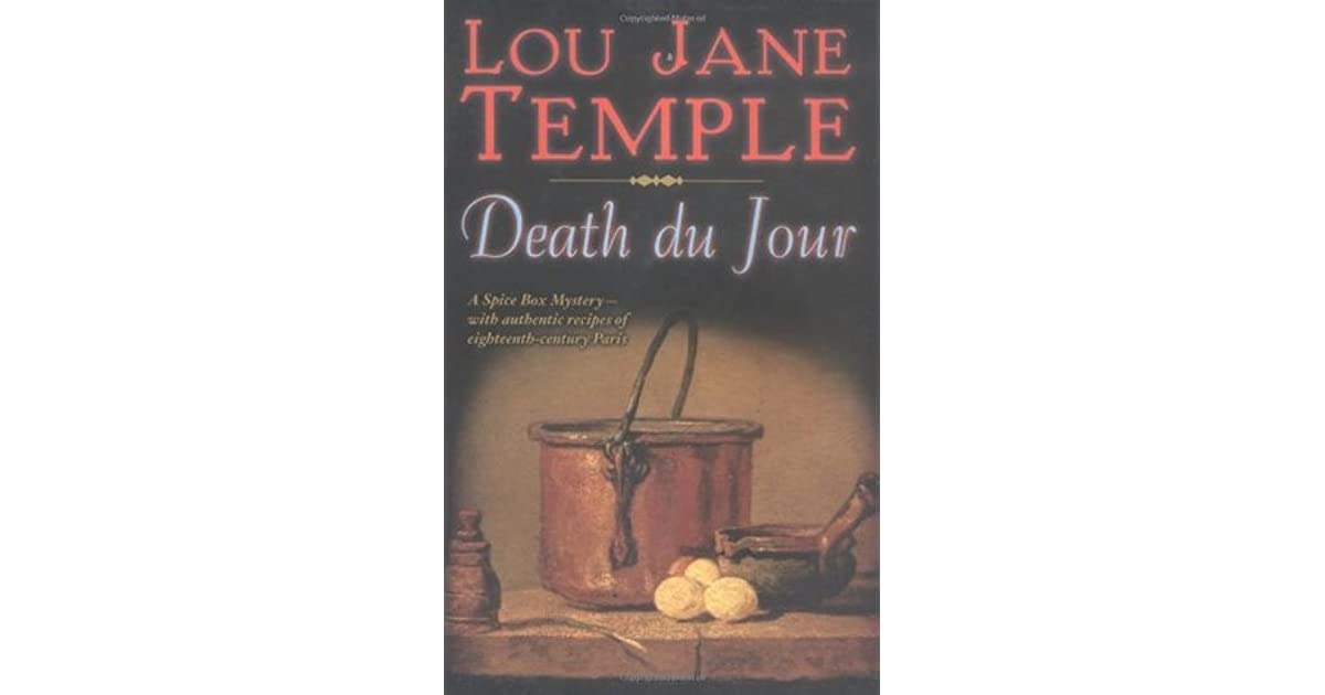 Death Du Jour The Spice Box 2 By Lou Jane Temple