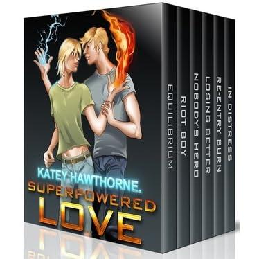 Reentry Burn (Superpowered Love Book 5)