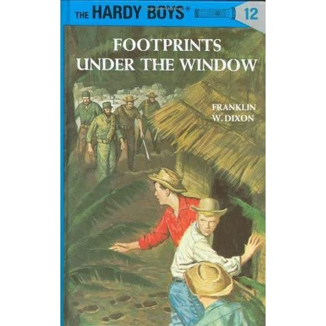 Footprints under the window hardy boys 12 by franklin for Window quotes goodreads