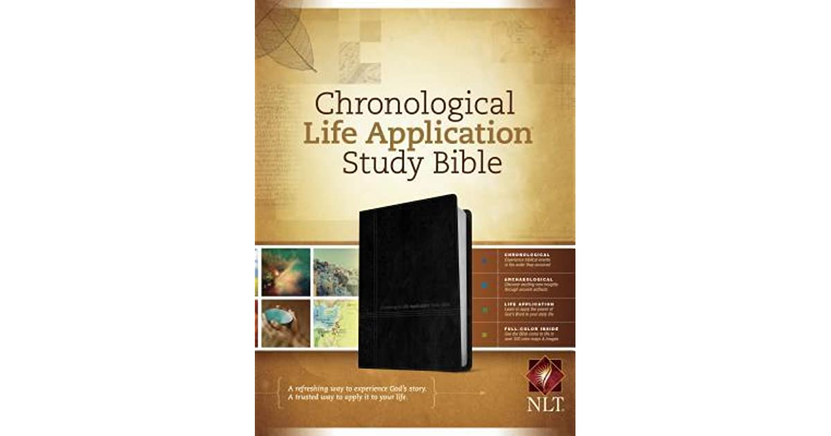 Tyndale Chronological Life Application Study Bible ...