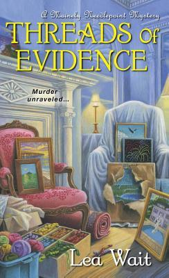 Threads of Evidence (Mainely Needlepoint, #2)