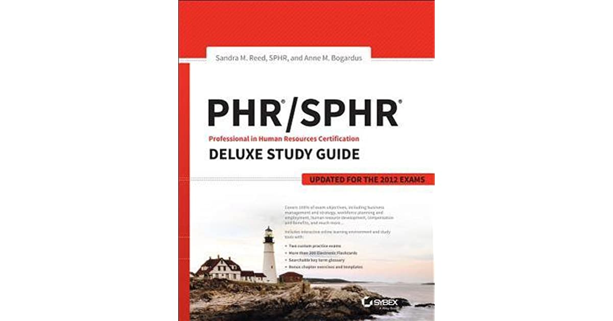Phr Sphr Professional In Human Resources Certification Deluxe