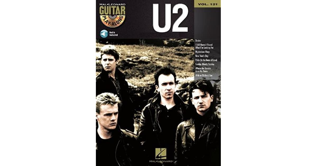 U2 Songbook: Guitar Play-Along Volume 121