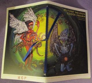 Mutant Neuron Codex Swarm by Juliet Cook