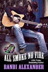 All Smoke No Fire (Red Hot Cajun Nights, #3)