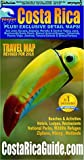 Waterproof Travel Map Of Costa Rica